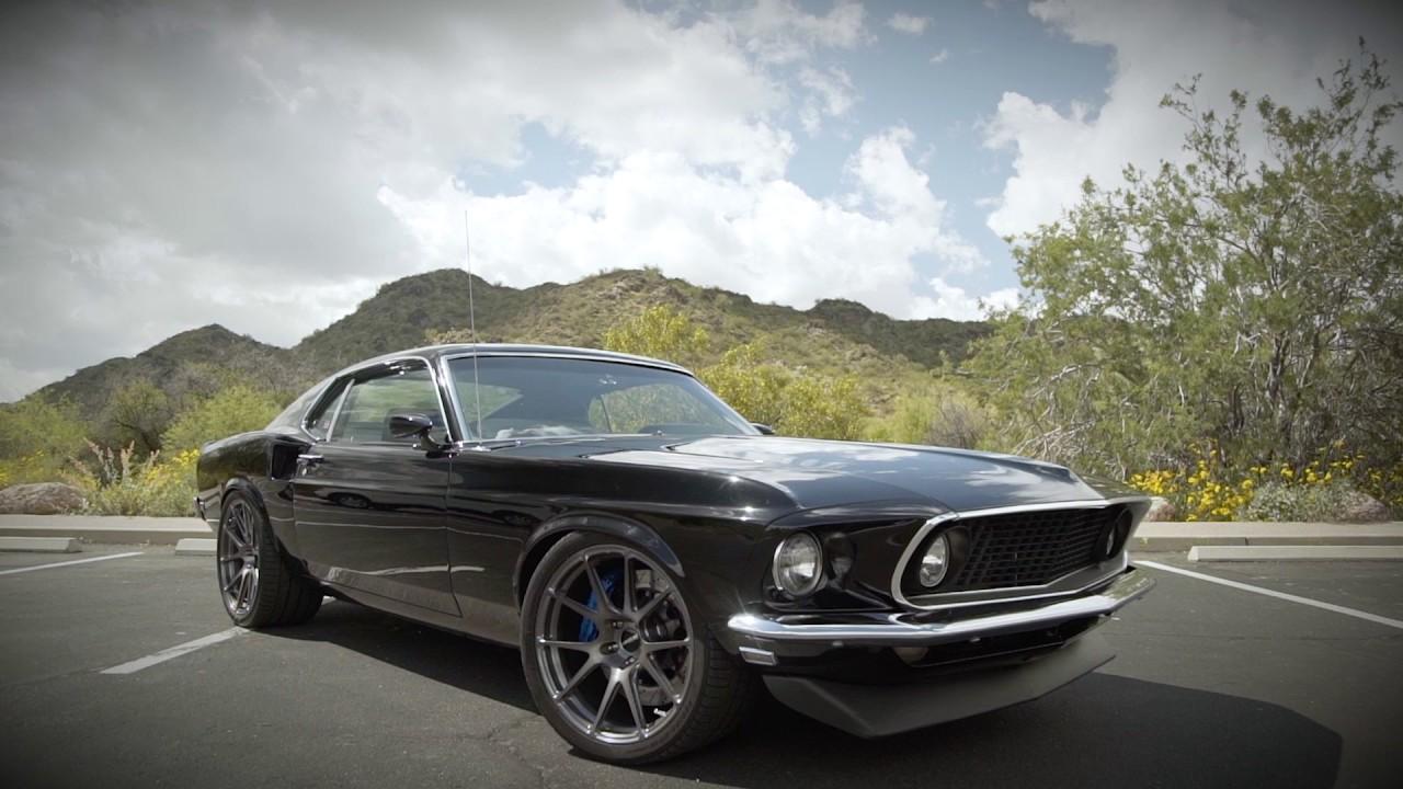 Pro Touring Garage Baer Brakes Hal S Mustang Youtube