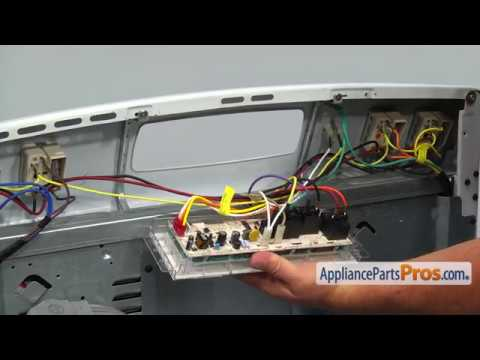How To: GE Oven Control Board WB27T11312 - YouTubeYouTube