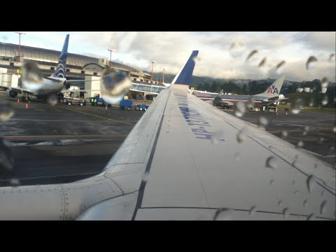 Copa Airlines (Star Alliance) CM7501 MDE-BOG Pushback, Safet
