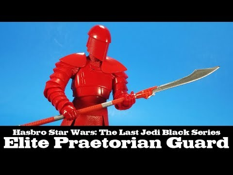 Star Wars Black Series Elite Praetorian Guard The Last Jedi Hasbro