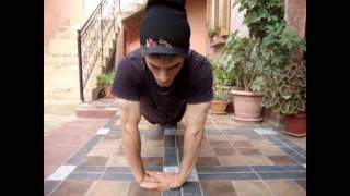 b boy tiger  training workout microb crew Algeria 2013