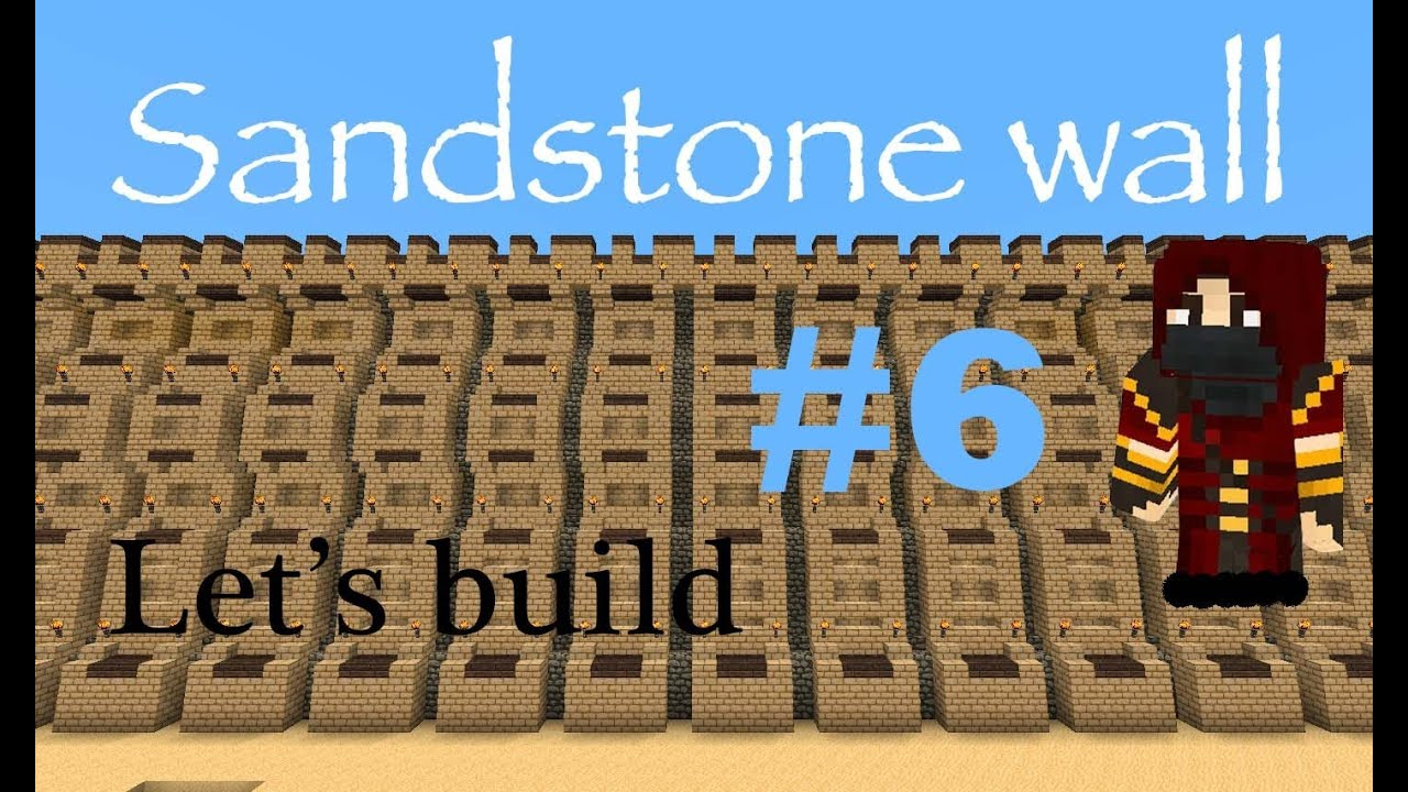 How To Build A Medieval Wall In Minecraft