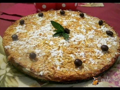 Варшавский яблочный пирог фото рецепт