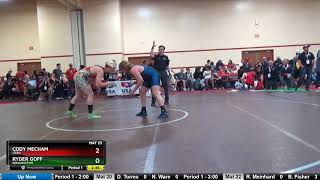 Junior 220 Cody Mecham Utah Vs Ryder Goff Washington