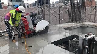 禾盛工程行  35P馬路切割機  樓板切割