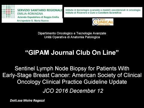 Journal club Update Linee guida ASCO/CAP linfonodo sentinella