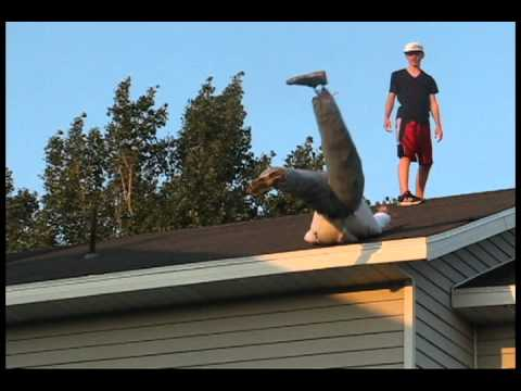 Don T Fall Off Roofs Awareness Youtube