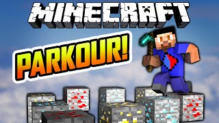 Minecraft PICKOUR  - Minecraft Parkour Map with The Pack Free HD Video