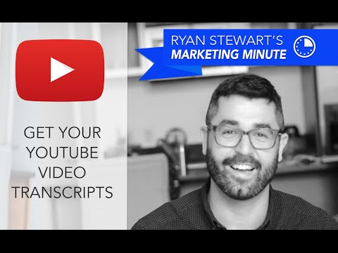 [How To] Get YouTube Video Transcripts - Get YouTube CC Text - Webris