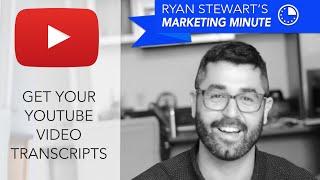 Video [How To] Get YouTube Video Transcripts - Get YouTube CC Text - Webris download MP3, 3GP, MP4, WEBM, AVI, FLV Maret 2018