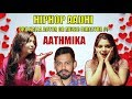 HIPHOP Aadhi ஒரு நல்ல நடிகரா இல்ல Music Director ah  ? - AATHMIKA | Late night show
