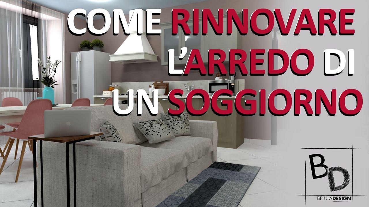 Come Arredare Un Soggiorno Di 25 Mq Con Ingresso Scala E Porte Belula Design Youtube