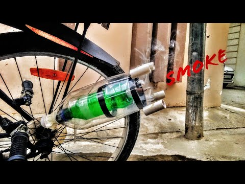 How To Make KTM Duke Bike Sound In Your Cycle With Smoke At Home