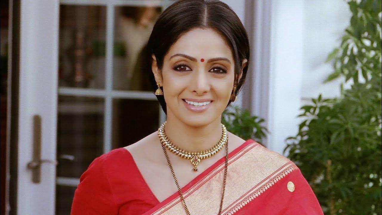 Sridevi S Last Scene Youtube