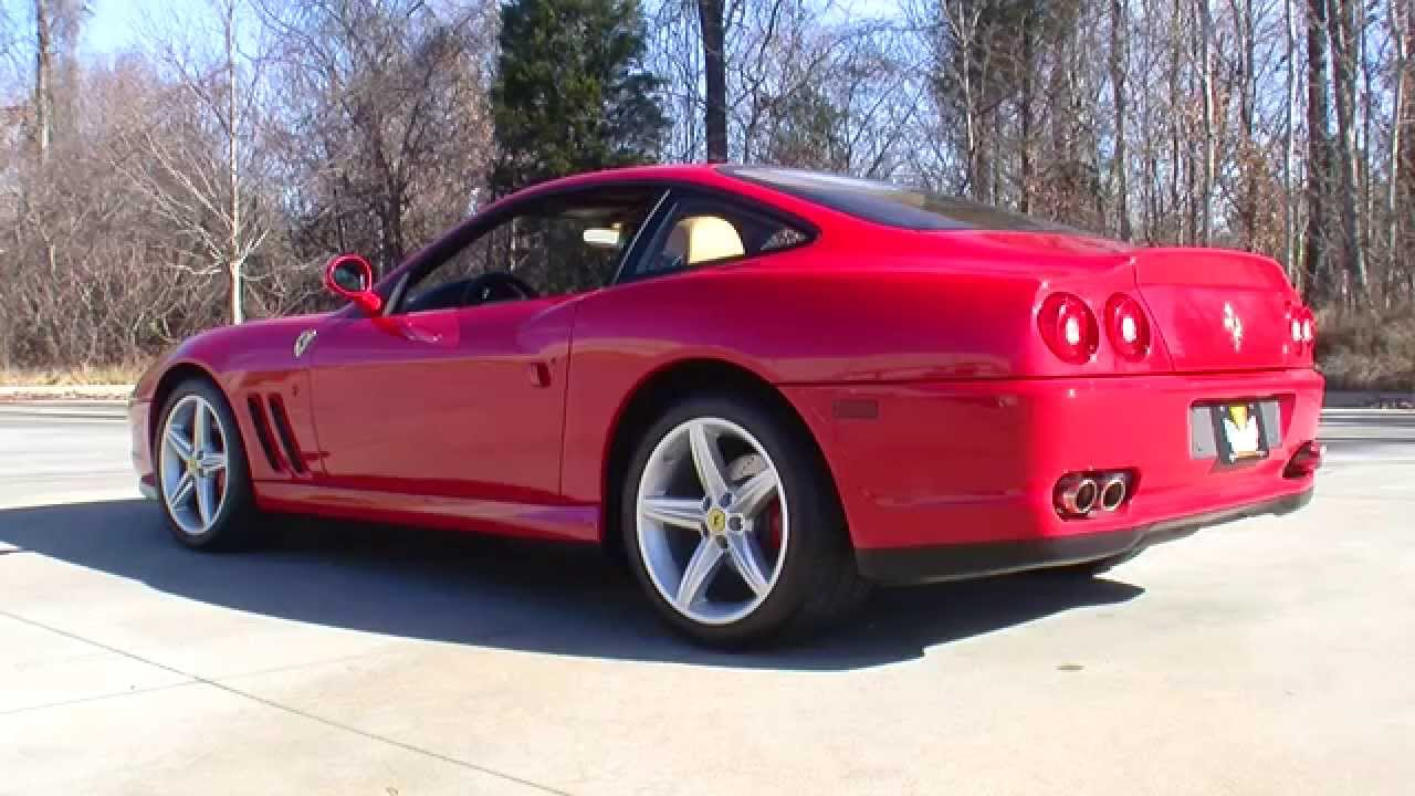 132744 2003 Ferrari 575 Maranello Youtube