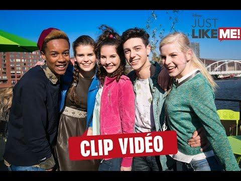 Chanson: Just Like Me! - Le Clip Vidéo | Just Like Me! | Disney Channel BE