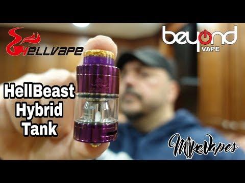 Hellbeast Hybrid Sub Ohm Tank By Hellvape & Beyond Vape - Mike Vapes