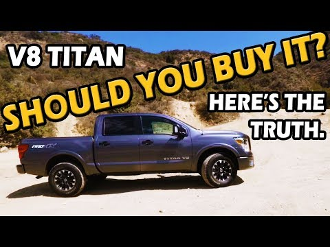 2018 Nissan Titan Review (Pro-4X V8 4x4 Crew Cab) | Test Drive Tuesday on Truck Central