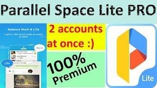 Parallel Space Lite PRO – Dual App screenshot 1