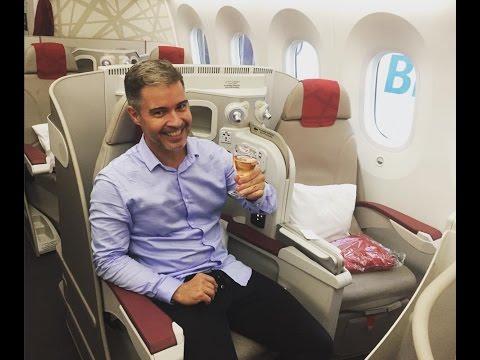 Royal Air Maroc 787 Business Class - Rio de Janeiro - Casablanca