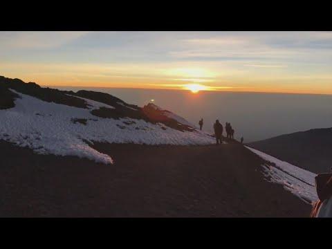 Team Mountain takes Mt. Kilimanjaro