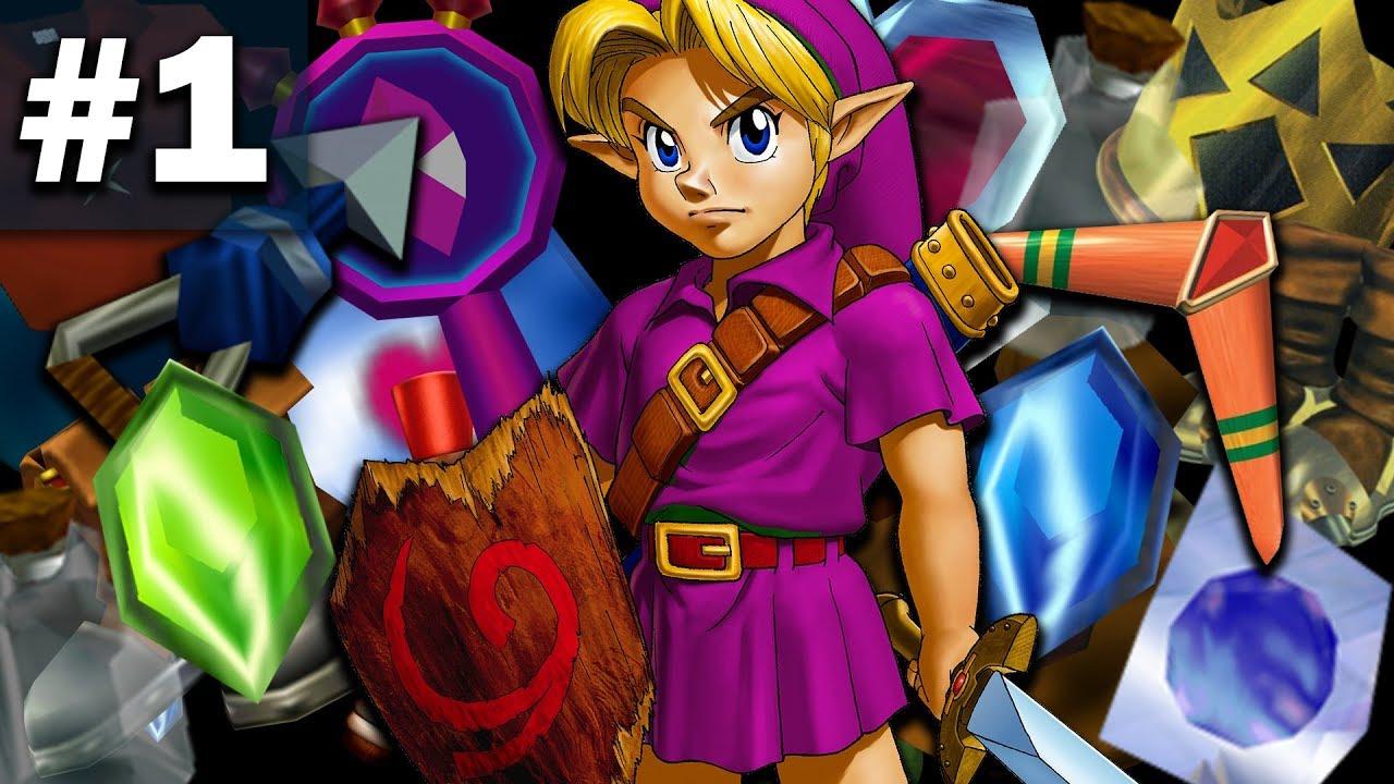 Zelda: Ocarina of Time Randomizer - Part 1 (ZOOTR)