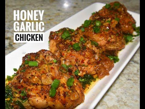Honey Garlic Chicken Thighs | Instant Pot Chicken Recipes