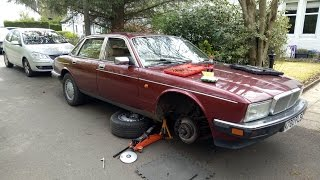 HubNut buys a cheap Daimler! (Jaguar XJ40). Will it get home?