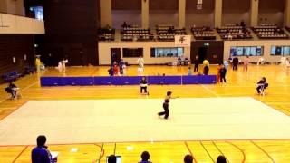 2017年 平田空 奈良県武術太極拳大会 規定南拳