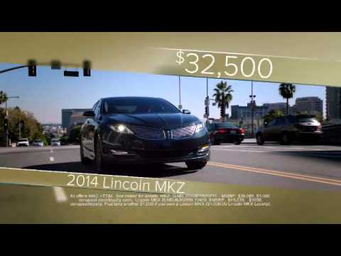 Great Deals on 2014 MKZ, 2014 MKX | Bill Knight Lincoln Anniversary Sale in Tulsa