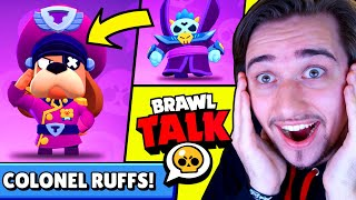 SPACE UPDATE! NOVÝ BRAWLER COLONEL RUFFS! Starr Force Season | Brawl Stars Brawl Talk CZ/SK