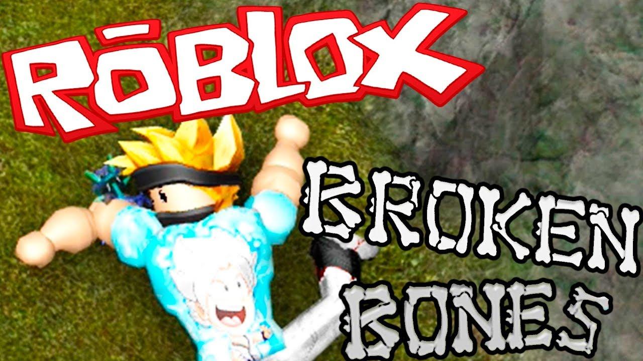 Me Tiro Y Me Rompo Los Huesos Broken Bones Iv Roblox Youtube