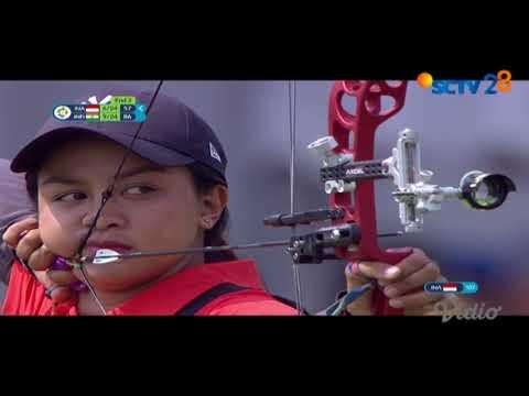 Cuplikan Pertandingan Panahan Putri   Asian Games 2018