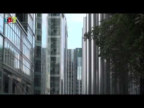 Canary Wharf - Financial Centre and business district of London, UK by Rooms and Menus