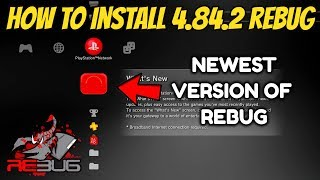 How to Install 4.84.2 Rebug | Jailbreak PS3
