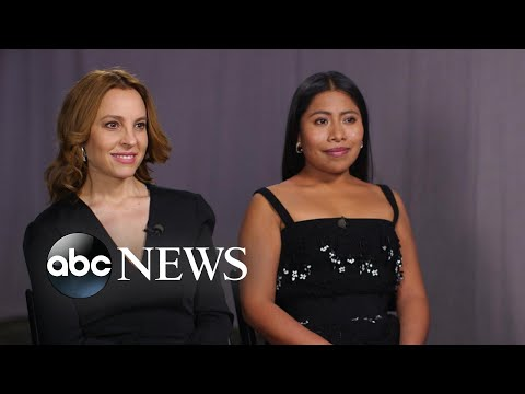Full interview with Oscar-nominated stars of 'Roma' on their breakthrough roles