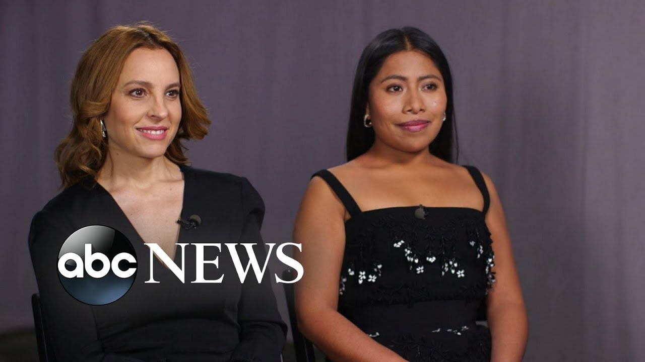 Ver Full interview with Oscar-nominated stars of 'Roma' on their breakthrough roles en Español