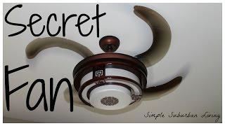 Installing a Ceiling Fan to Save Energy - Secret fan featured
