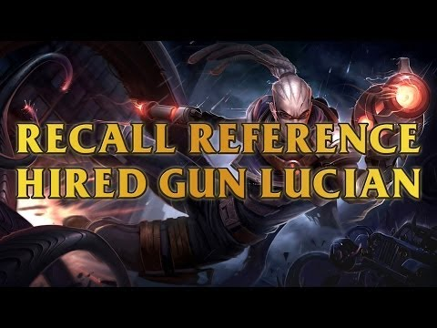 Hired Gun Lucian Recall Reference The Matrix Red Or Blue Pill