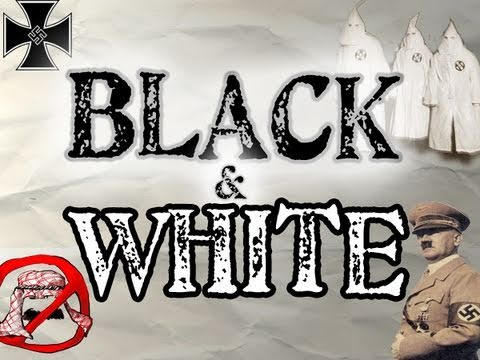 Hyperaptive - Black & White (RACISM SONG) - Official Lyric Video - New Rap / Hip Hop