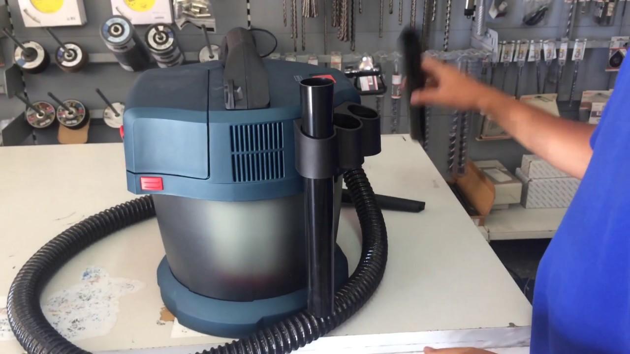 bosch gas 18v 10 l aspirador youtube. Black Bedroom Furniture Sets. Home Design Ideas