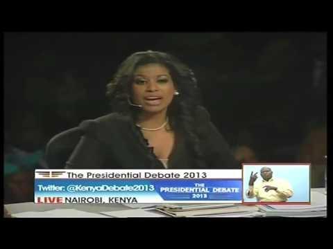 Kenya Presidential Debate 2013 Full Video