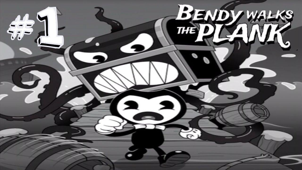 Bendy in Nightmare Run - Bendy Walks the Plank - Full Gameplay Part 1