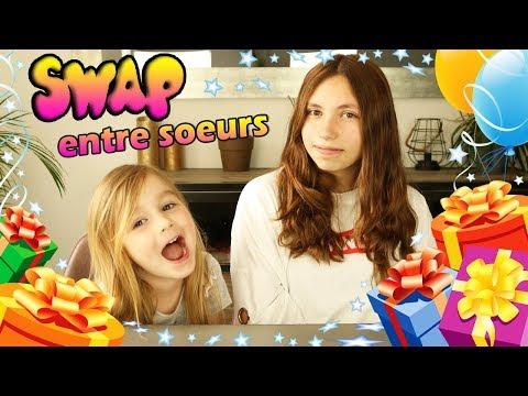 SWAP ENTRE SOEURS ! Lana Et Ellie S'offrent Des Cadeaux ! SUPER SWAP !
