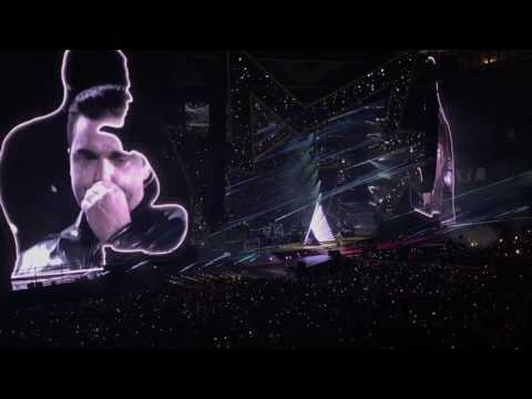 Robbie Williams - Angels - Etihad Stadium 2017 - Tribute to Manchester Attack