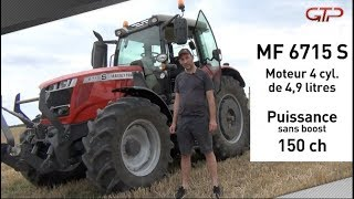 Match MF 6715 vs. MF 7715 S : 4 ou 6 cylindres ?