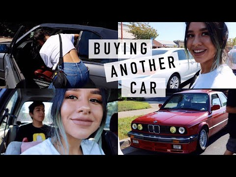 BUYING ANOTHER CAR // BMW E30