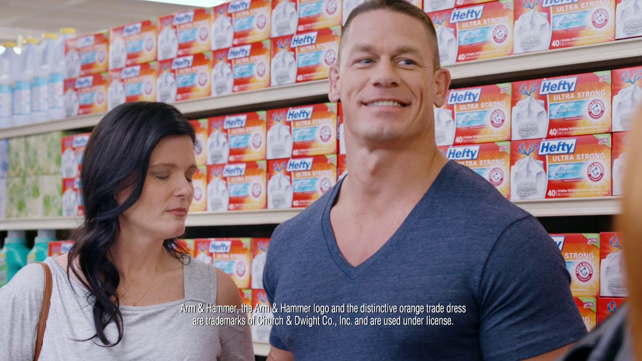 John Cena Stars In New Hefty Ultra Strong Commercial Youtube