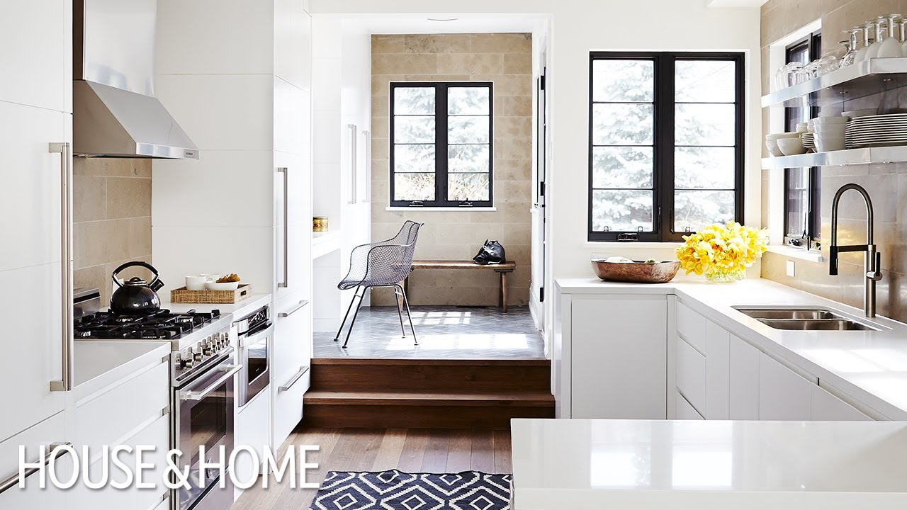 Interior design small open concept home renovation youtube for Interior design of small houses