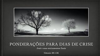 Salmo 118 : 24 - 29 | Ponderações para Dias de Crise | Rev. Rodrigo Soucedo